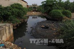 Bắt quả tang doanh nghiệp xả chất thải ra môi trường