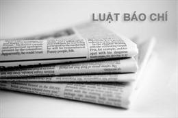 1 bộ luật và 6 luật có hiệu lực thi hành từ 1/1/2017