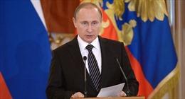 Tổng thống Nga thực sự là nhân vật của năm 2016
