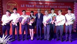Vedan Việt Nam tôn vinh nhân viên gắn bó 20 năm