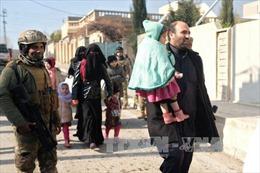 125.000 dân thường Iraq mất nhà cửa tại Mosul