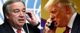 """Tân Tổng thư ký LHQ điện đàm """"thăm dò"""" ông Trump"""