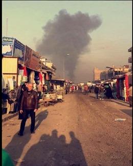 Đánh bom rung chuyển Baghdad, 60 người thương vong