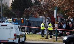 Xe tải lao vào binh sĩ ở Israel, gần 20 người thương vong