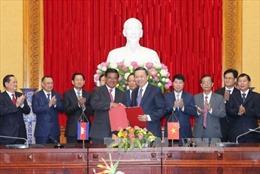 Tăng cường quan hệ hợp tác giữa Bộ Công an Việt Nam và Bộ Nội vụ Campuchia