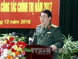 Thượng tướng Lương Cường thăm, chúc Tết Đoàn An ninh 3