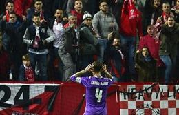"""Xem bàn thắng """"chọc giận"""" CĐV Sevilla của Sergio Ramos"""