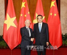Tổng Bí thư Nguyễn Phú Trọng hội kiến Thủ tướng Trung Quốc Lý Khắc Cường