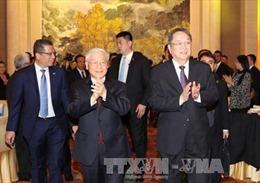 Gặp gỡ chào mừng kỷ niệm 67 năm quan hệ ngoại giao Việt-Trung