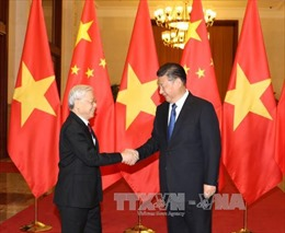 Điện mừng nhân kỷ niệm 71 năm Ngày thiết lập quan hệ ngoại giao Việt Nam - Trung Quốc