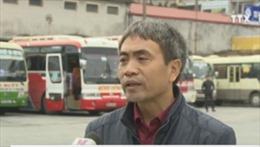 50 chuyến vận tải Mỹ Đình - Ninh Bình chưa về bến mới vì không có khách