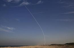 Israel kích hoạt hệ thống phòng thủ tên lửa như trong 'Star Wars'