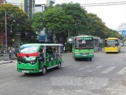 Thí điểm hoạt động xe buýt điện tại TP Hồ Chí Minh