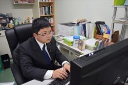 Phó giáo sư trẻ người Việt ở xứ sở Mặt trời mọc