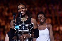 Australia mở rộng: Vượt chị, Serena Williams giành Grand Slam thứ 23