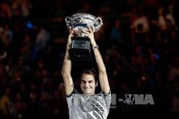 'Vua kỷ lục' Roger Federer giành Grand Slam thứ 18