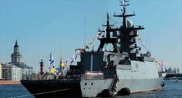 Nga thử nghiệm tàu hộ tống mới
