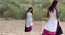 Áo dài váy đụp, là cách tân hay 'mắm tôm pha với ca cao'?