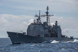 Tàu khu trục Mỹ mắc cạn, gây tràn dầu ngoài khơi Nhật Bản