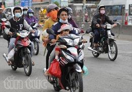 Giao thông thông thoáng các cửa ngõ TP Hồ Chí Minh ngày mùng 5 Tết