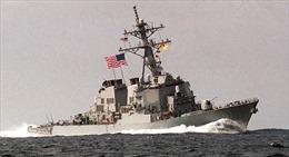 Mỹ triển khai tàu khu trục tuần tra gần Yemen