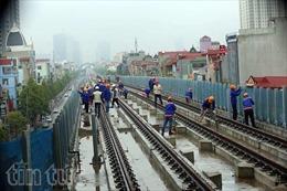 Dự kiến chạy thử tuyến đường sắt Cát Linh - Hà Đông vào tháng 10