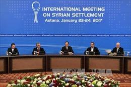 Nhóm kiểm soát lệnh ngừng bắn ở Syria họp tại Astana
