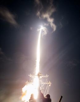 Mỹ thử nghiệm thành công tên lửa đánh chặn mục tiêu từ ngoài không gian