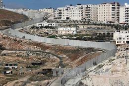 Quốc tế lên án việc Israel hợp pháp hóa nhà định cư ở Bờ Tây