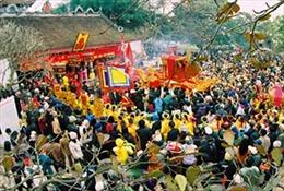 Khai hội đền Phù Ủng