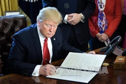 Tổng thống Trump ký sắc lệnh chống tội phạm