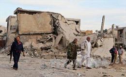 Tàn quân IS chạy tới thung lũng sa mạc Libya sau thất bại ở Sirte