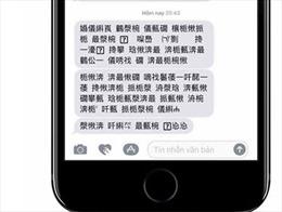 Viettel phản hồi việc tin nhắn có ký tự lạ giống chữ Trung Quốc