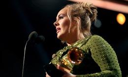 Adele thâu tóm 3 giải quan trọng nhất Grammy 2017