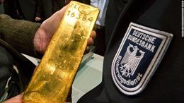 Đức rốt ráo chuyển hàng trăm tấn vàng thỏi từ Mỹ về nước