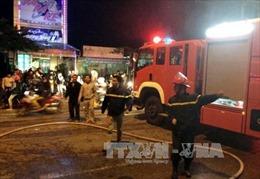 Cháy cửa hàng đồ gỗ nội thất ở thành phố Móng Cái