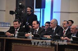 Hòa đàm Syria sẽ diễn ra theo thể thức họp kín tại Kazakhstan