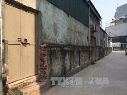 Làm rõ việc tự ý phá dỡ tường bao của khu tập thể Đại học Y Hà Nội