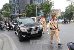 Hà Nội xử lý 48 trường hợp đi vào làn đường xe buýt nhanh BRT