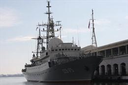 Tàu do thám Nga bị bắt quả tang 'lảng vảng' gần căn cứ Mỹ