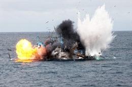 Bà Rịa-Vũng Tàu: Nổ tàu cá làm 11 người bị thương, một người mất tích