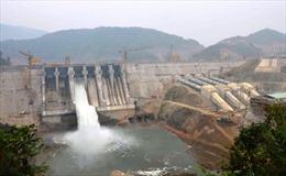 Nhà máy thủy điện Trung Sơn vẫn vận hành bình thường sau sự cố sạt trượt đập tràn