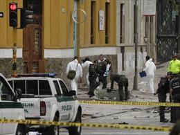 Nổ bom tự chế ở trường đấu bò Colombia, 31 người thương vong