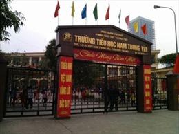 Không khởi tố hình sự vụ học sinh bị ô tô đâm gãy chân tại trường Nam Trung Yên