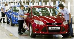 Ford tung chiếc Ford Focus đầu tiên tại Trung Quốc