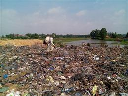 Nông thôn Vĩnh Phúc ngập trong rác thải