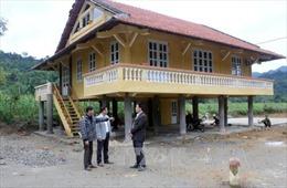 Lão nông nghèo dân tộc Tày hiến đất xây dựng nhà văn hóa