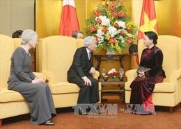 Nhà Vua, Hoàng hậu Nhật Bản cảm kích trước cử chỉ đẹp của Chủ tịch Quốc hội Việt Nam