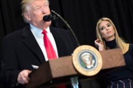 Ivanka Trump giúp cha viết diễn văn 'lấy lòng' Quốc hội