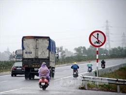 Đi xe máy vào đường cao tốc có bị phạt nặng?